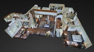 Matterport 3D dollhouse view of Sea Pines home
